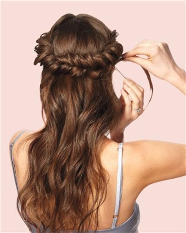 diy nice wedding hair style