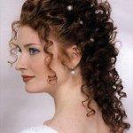 diy hair style foe wedding
