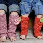 diy stylish and beautiful crochet cuff leg warmers