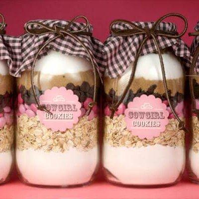 diy mason jar gift idea for cute girls