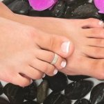 diy toe ring design and pattern