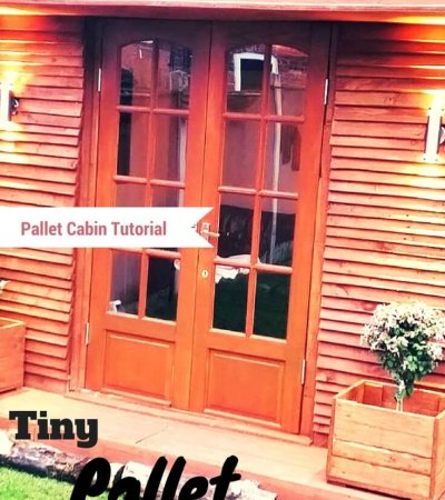 recycled pallet tiny house made of pallets
