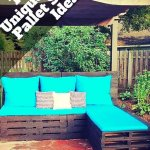 recycled pallet sofa ideas