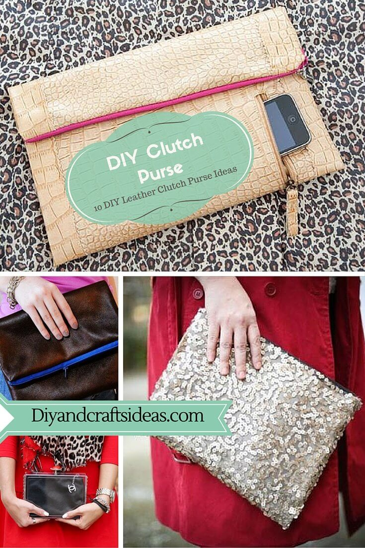 DIY Clutch Purse Ideas