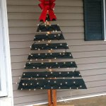 accent diy pallet Christmas tree