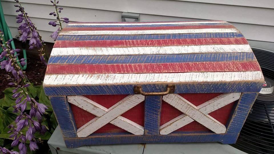 diy wooden chest