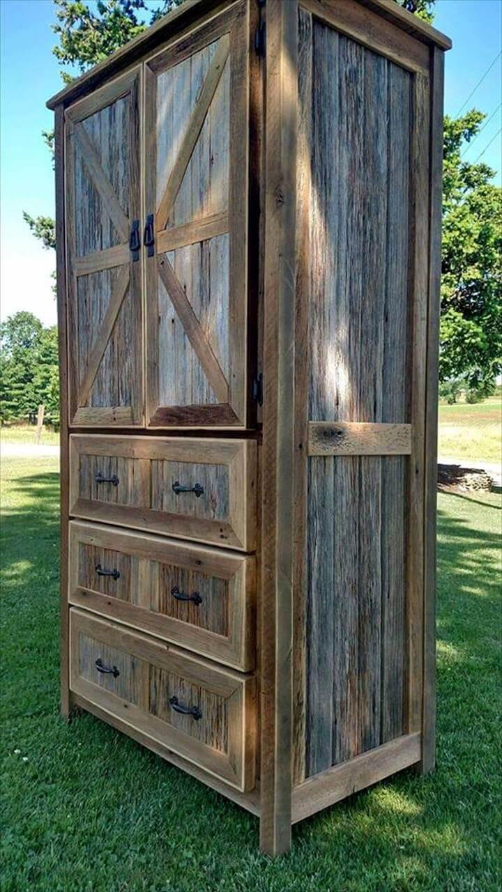 diy wooden cupboard