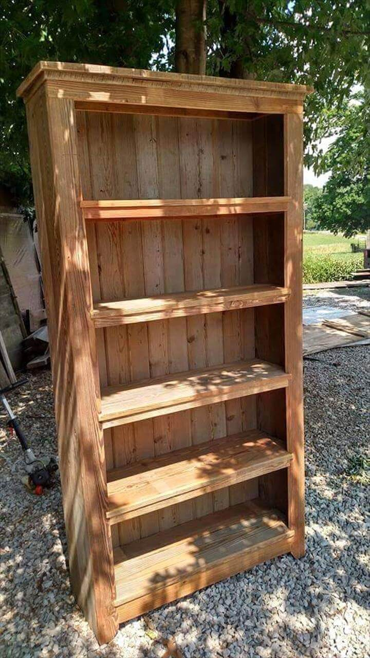 Recycle display shelf