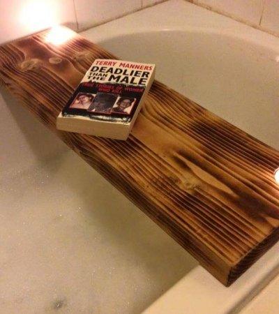 diy pallet bath board
