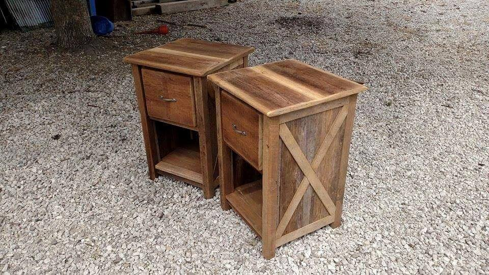 wooden night stands