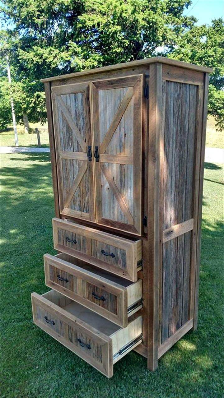 gorgeous wooden cupboard