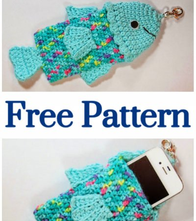 Crochet Summertime Fishy Phone Case – Free Pattern
