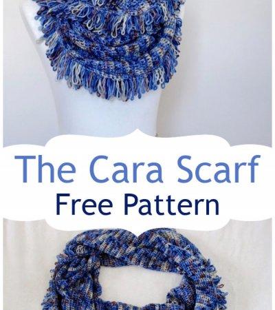 Crochet The Cara Scarf