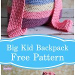 Free Crochet Aubrie's Big Kid Backpack Pattern