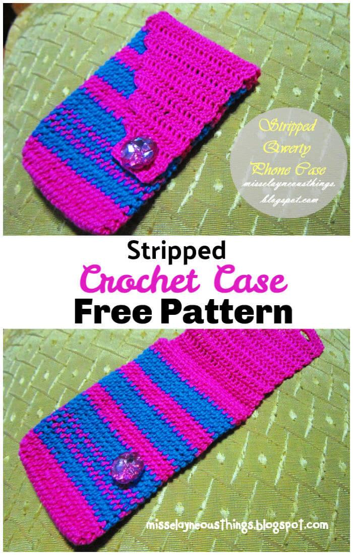 Free Crochet Cellphone Case Pattern