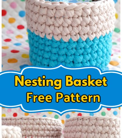 Free Crochet Nesting Baskets Pattern
