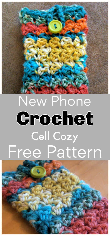 Free Crochet New Phone Cozy Pattern