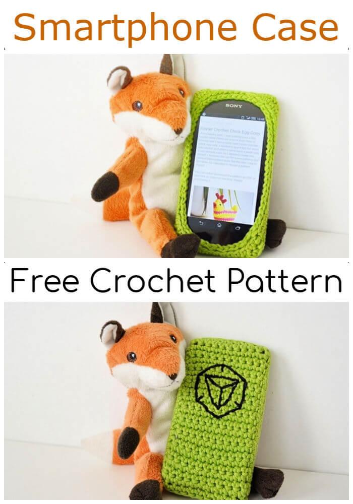 Free Crochet Smartphone Case Pattern