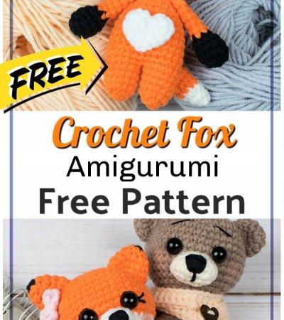 Free Crochet Tiny Fox Amigurumi Pattern