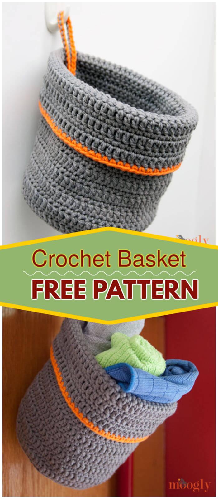 How to Crochet Basket Free Pattern
