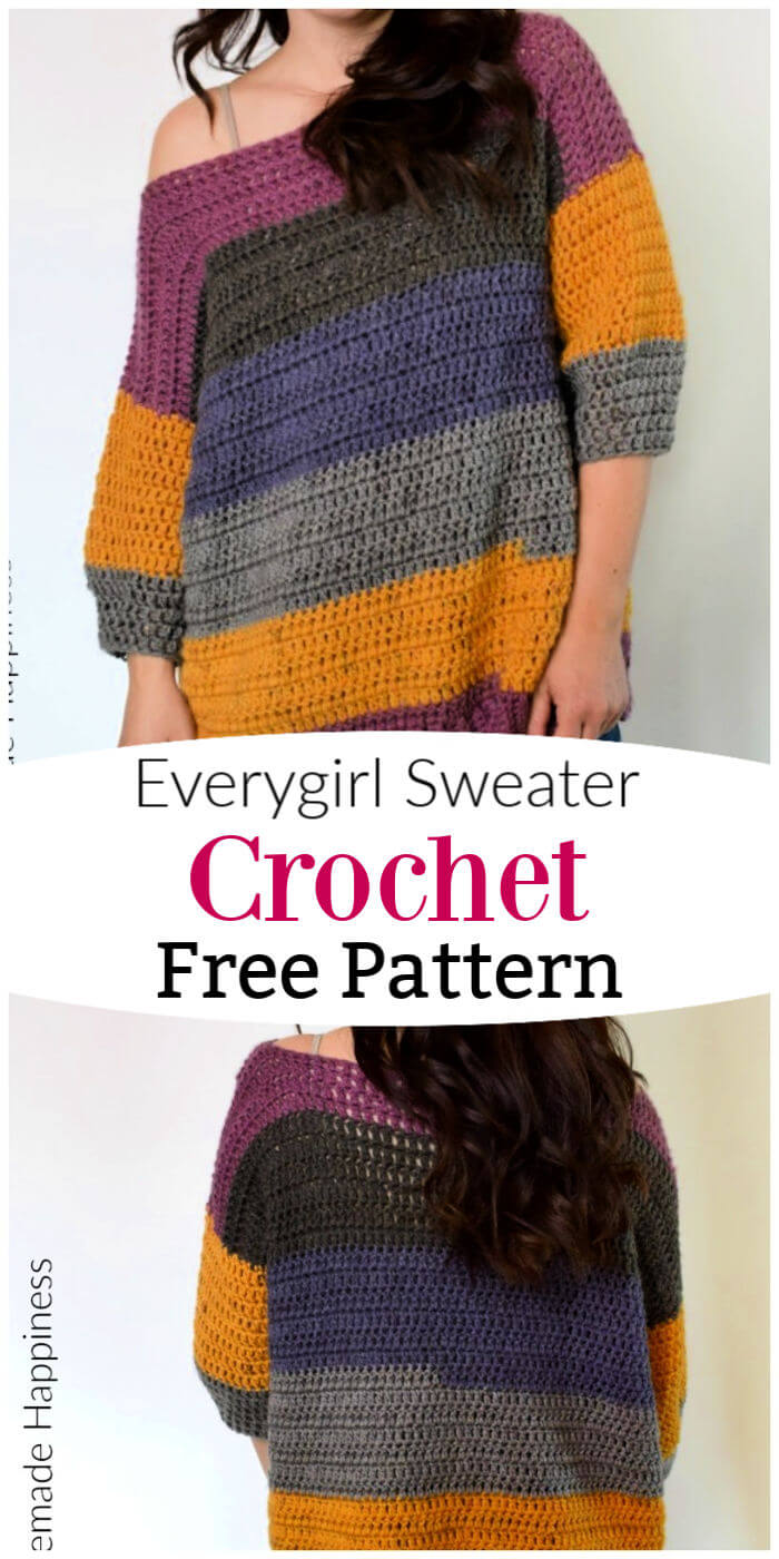How to Crochet Everygirl Sweater