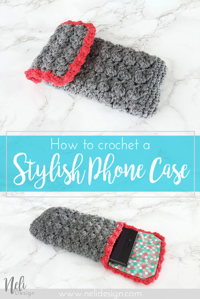 How to Crochet a Stylish Phone Case