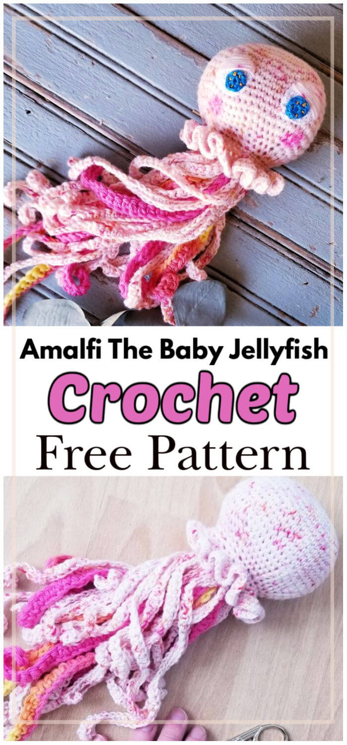 Amalfi the Baby Jellyfish Free Crochet Pattern
