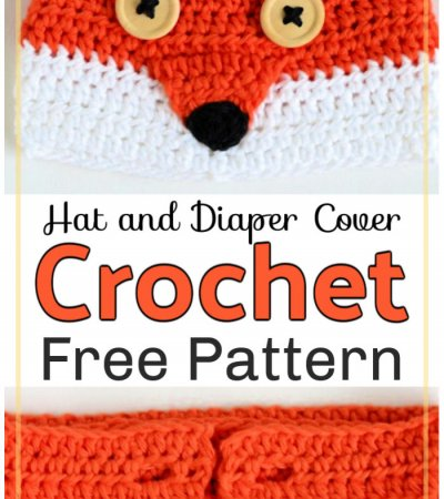 Crochet Baby Hat and Diaper Cover Pattern