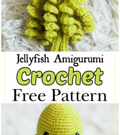 Free Crochet Jellyfish Amigurumi Pattern