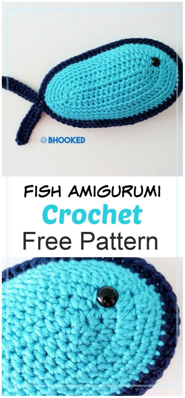 How to Crochet Fish Amigurumi Pattern