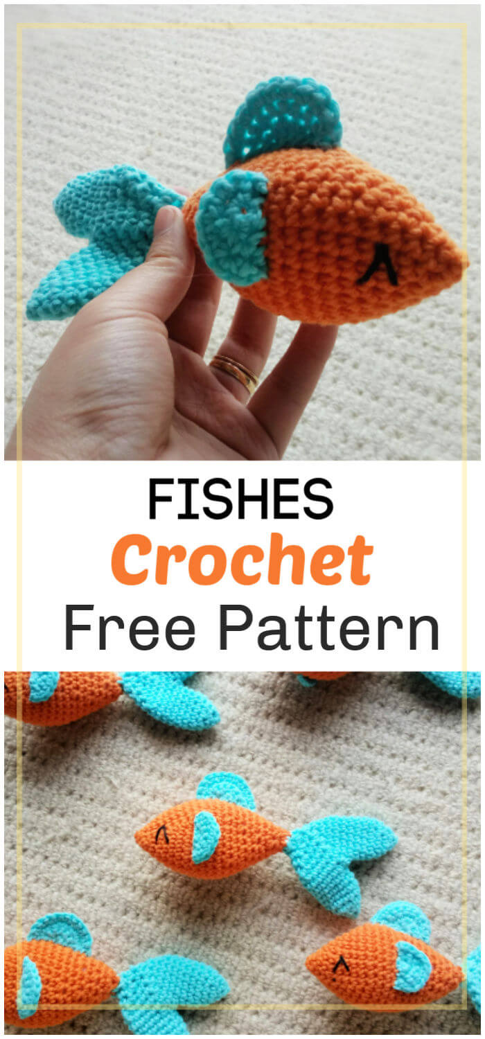 How to Crochet Fishes Pattern