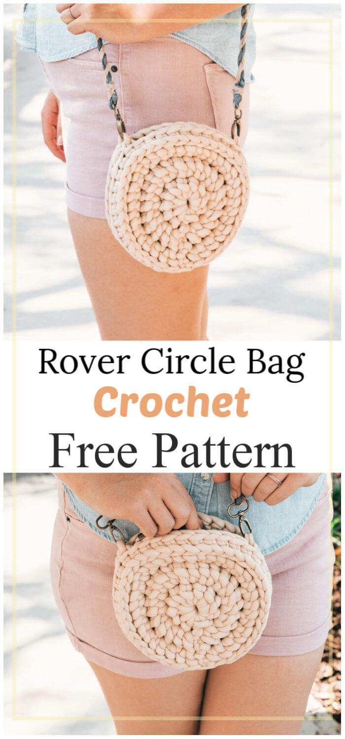 How to Crochet Rover Circle Bag