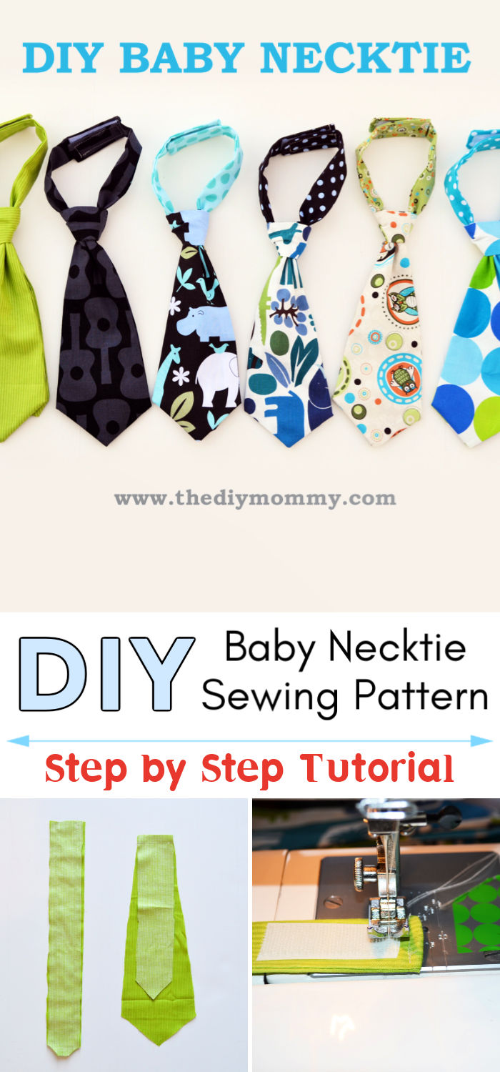 How to Sew a Baby Necktie