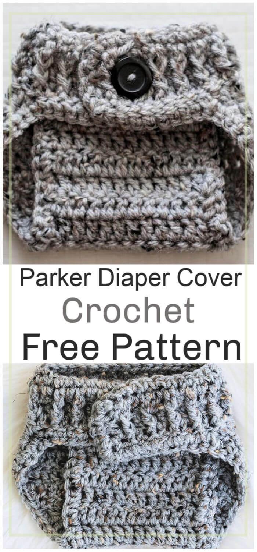 Parker Diaper Cover Free Crochet Pattern